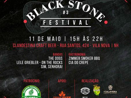 Eureka patrocina 3° Black Stone Festival