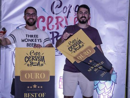 Cliente Eureka, cervejaria Three Monkeys Beer leva Ouro na Copa da Cerveja POA 2018