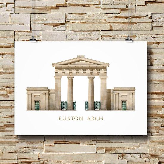 Euston Arch, London
