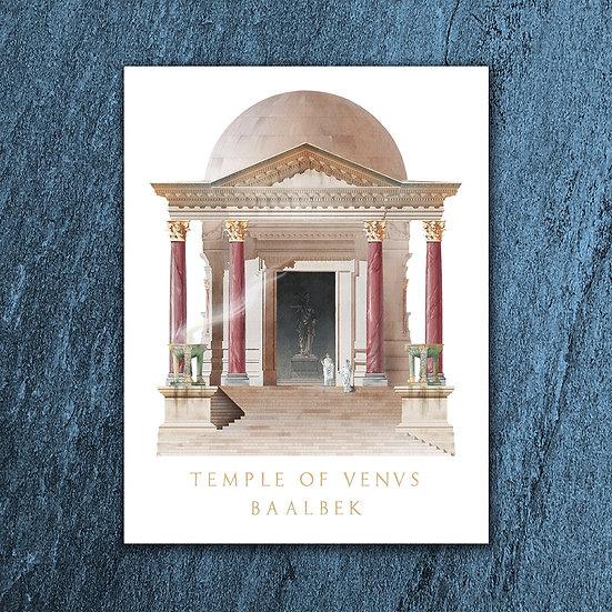 The Temple of Venus at Baalbek