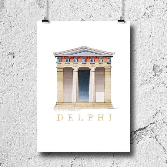 The Athenian Treasury at Delphi