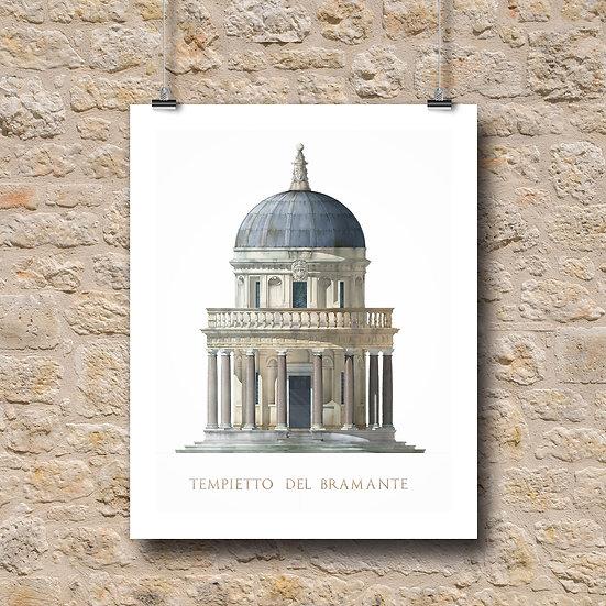 Tempietto, San Pietro in Montorio, Rome