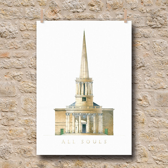 All Souls, Langham, London