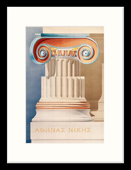 Ionic Order, Athena Nike, Athens