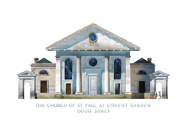 The Church of St Paul at Covent Garden