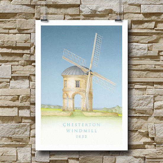 The Chesterton Windmill, Warwickshire