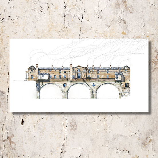 1900: Pulteney Bridge in Bath