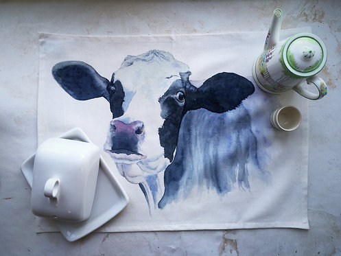 Freda Friesian Tea Towel