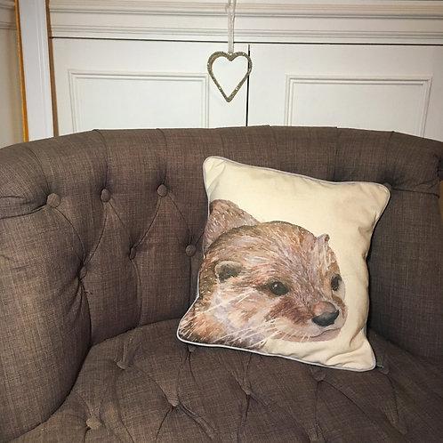 Ollie Otter Cushion Cover