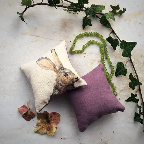 Hartley Hare Lavender Sachet Duo