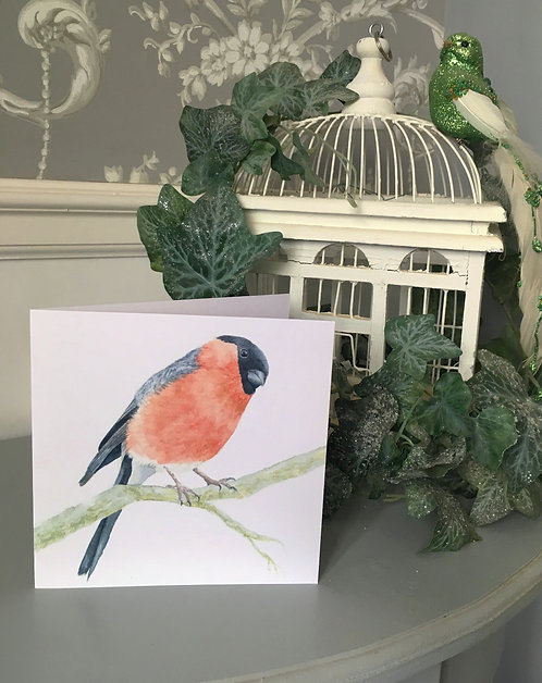 Burleigh Bullfinch Card