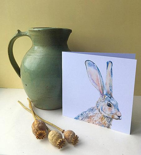 Hartley Hare Card