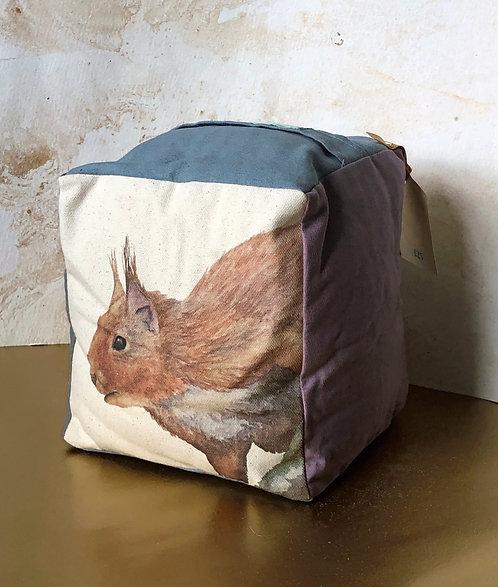 Sylvie Squirrel Door Stop