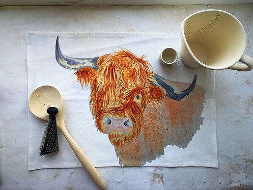 Hamish Highland Tea Towel
