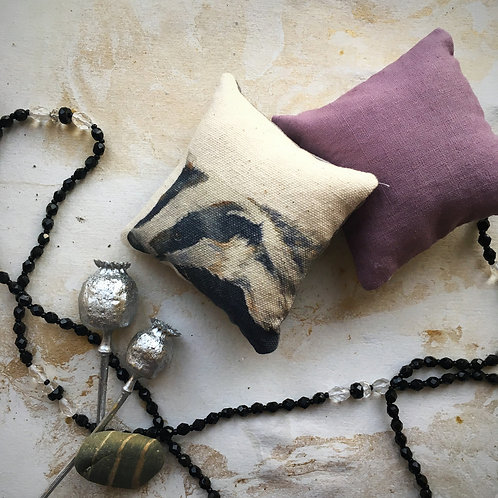 Bertie Badger Lavender Sachet Duo