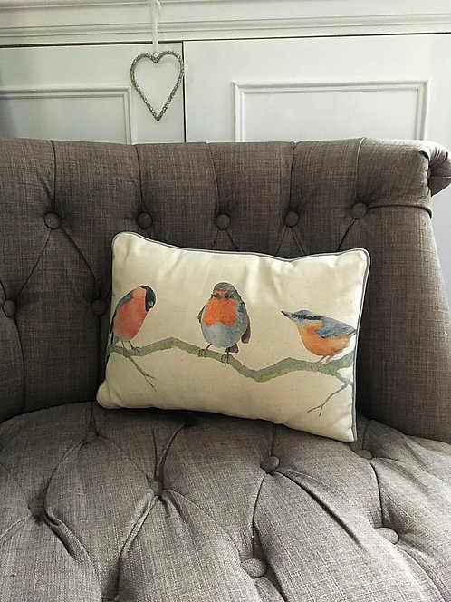Burleigh, Rory & Nattie Bird Trio Cushion
