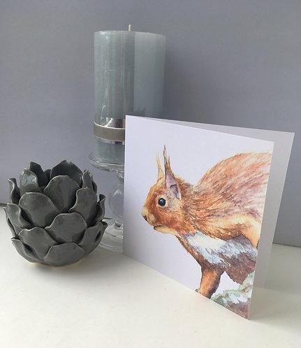 Sylvie Squirrel Card