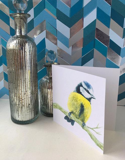 Bobbie Bluetit Card