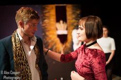 Ali Bullen as Gloucester, Charlotte McEvoy as Regan