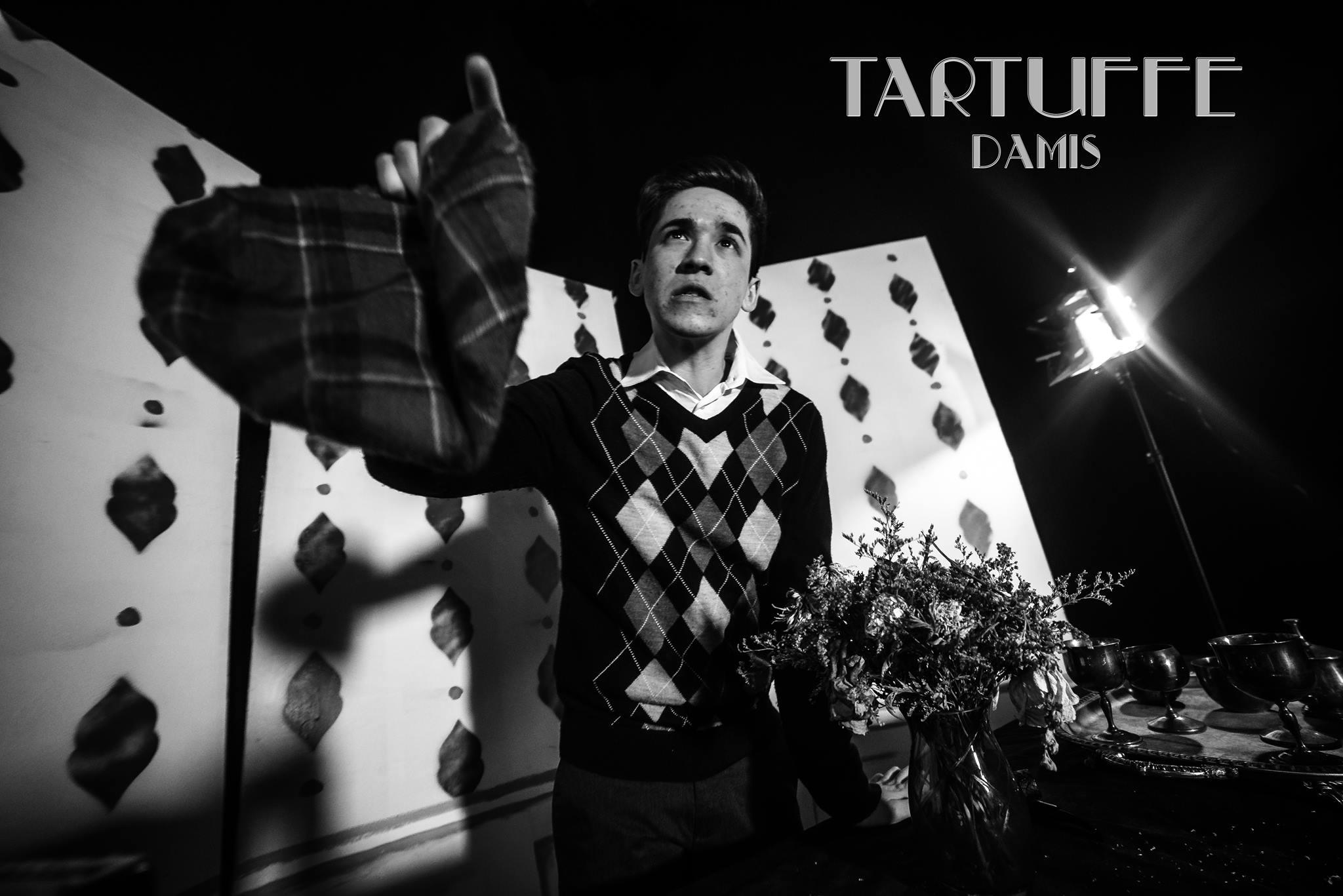 Trevor Rinzler as Damis