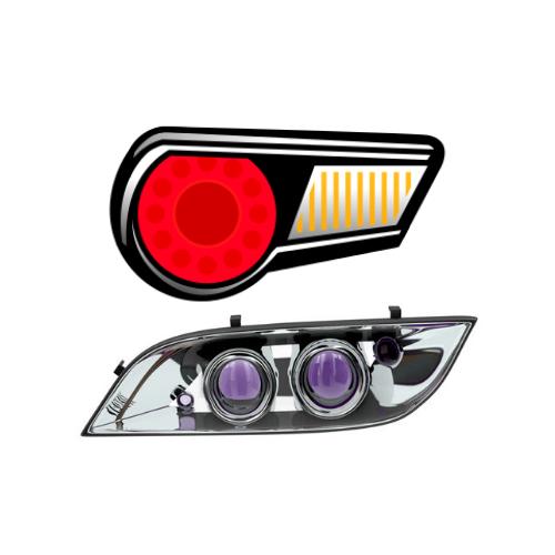 Tail + Head Light Tints