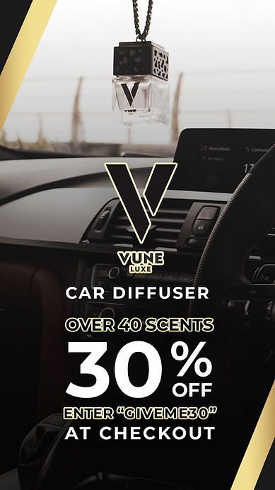 Vune Car Diffuser Offer