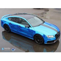 Chrome Blue A7 Wrap