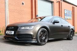 Audi A7 Satin Black Wrap