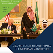 Report: U.S. Arms Sales to Saudi Report: Arabia: The Corporate Connection