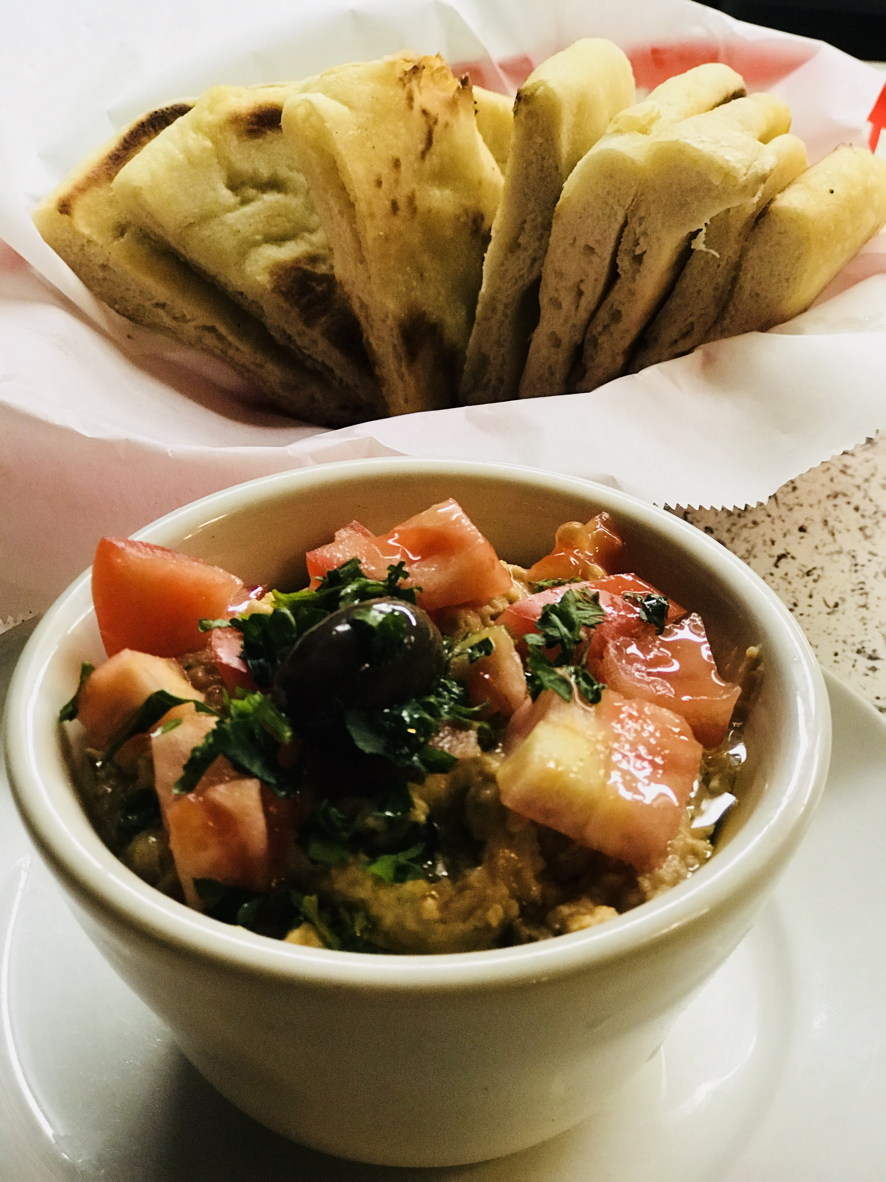 Hummus & Homemade Pita