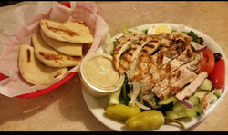 Chicken Feta with a side of Pita!