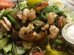 Grilled Shrimp Picado Salad