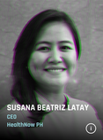 Beia Latay heads HealthNow PH,a collaboration between AC Health (Ayala Corporation's healthcare arm) and 917Ventures (Globe Telecom's corporate incubator), serves as the needed link between Filipinos and innovative healthcare solutions amid the new normal.