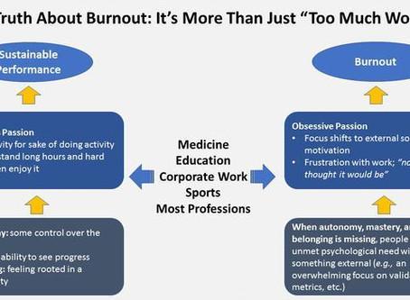 """Burnout Runs Deeper Than """"Too Much Work"""""""