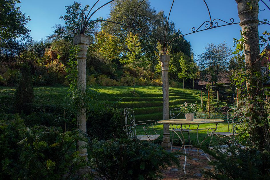 We also create stunning landscapes