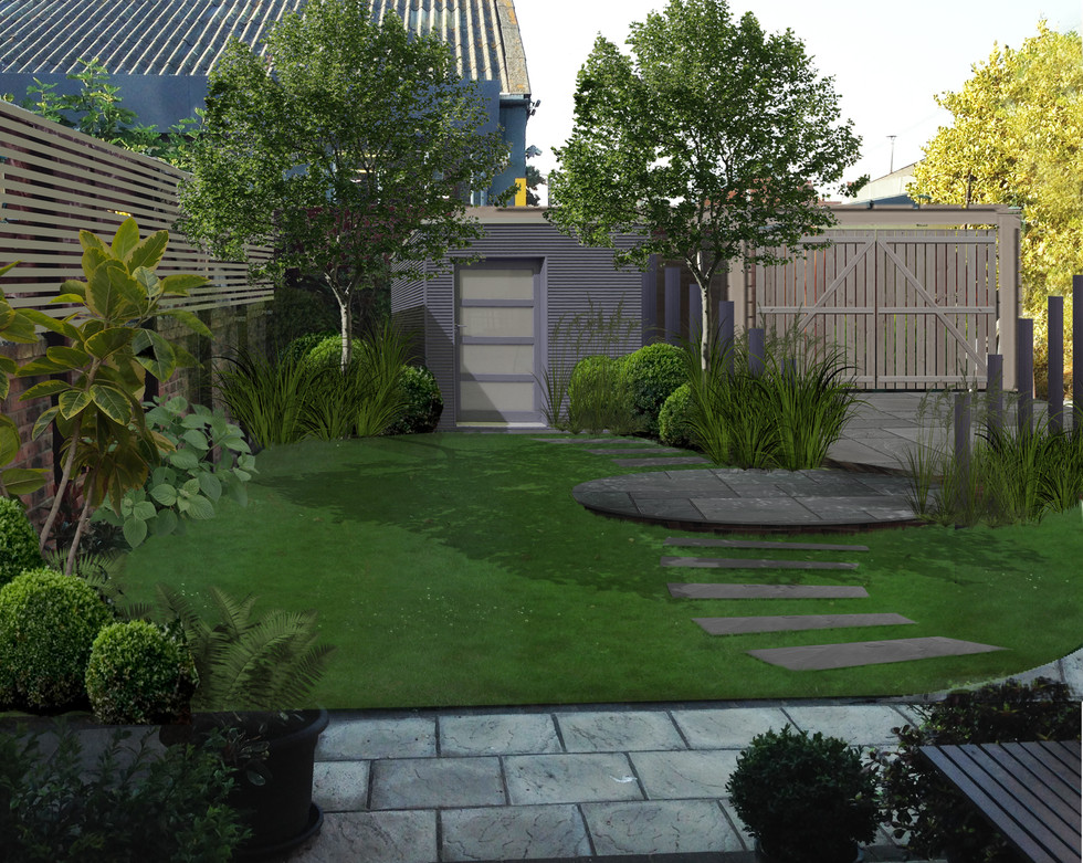 Another stunning small garden