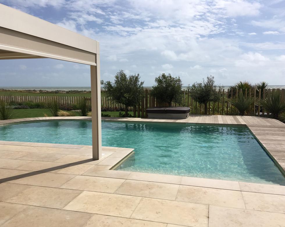 Beautiful pool and surround