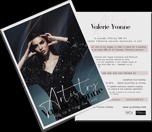 beaity salon flyer