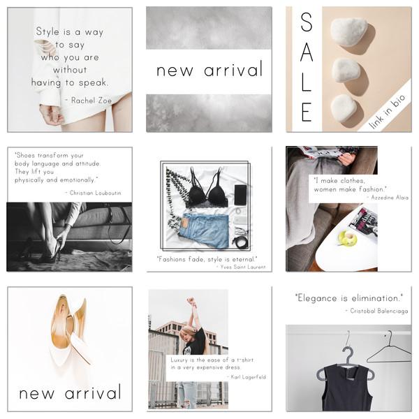 instagram posts templates