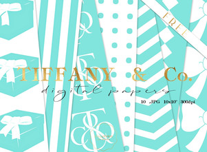 FREE Tiffany inspired papers pack