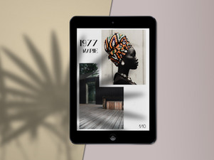 FREE - iPad mini Scene Mock Up