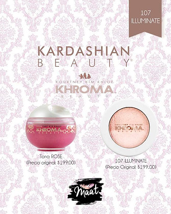 Kardashian Beauty Khroma Kit 107 Iluminate
