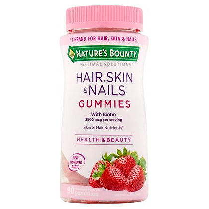 HSN Gomitas Strawberry Natures Bounty