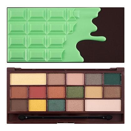 Makeup Revolution Mint Chocolate Eyeshadow Palette