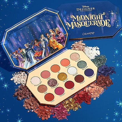 ColourPop Disney Designer Midnight Masquerade Eyeshadow Palette