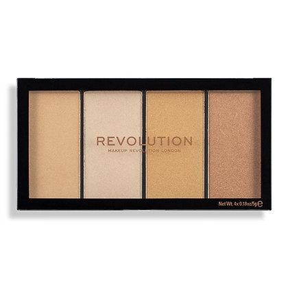 Makeup Revolution  Re-Loaded Lustre Lights Warm
