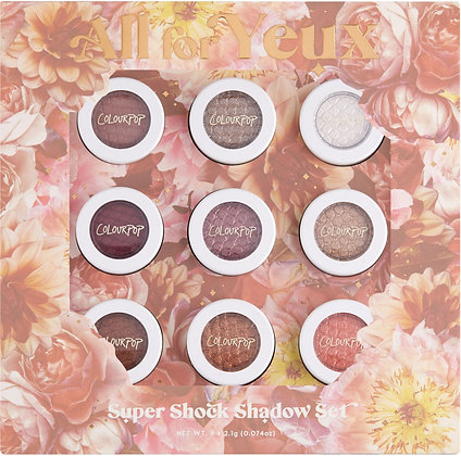 All Colour Pop For Yeux Super Shock Shadow Vault