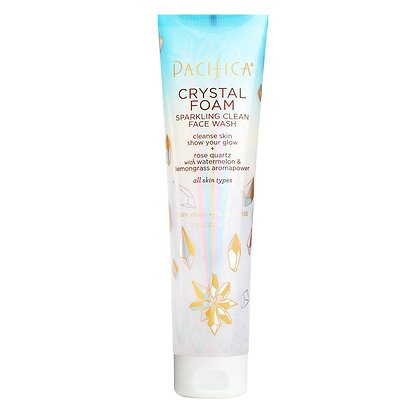 Pacifica Crystal Foam Sparkling Clean Face Wash