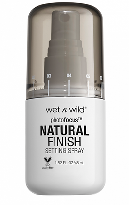 Photo Focus Natural Finish Setting Spray Wet n Wild