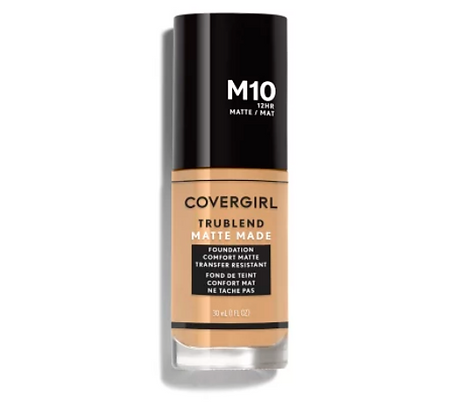 Covergirl TruBlend Matte Made Liquid Foundation -Tonos Medios